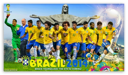 BRAZIL 2014 ❤ 4K UHD Wallpaper for 4K UHD 16:9 Ultra High Definition 2160p 1440p 1080p 900p 720p ; Mobile 16:9 - 2160p 1440p 1080p 900p 720p ;