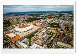 Brazil Stadiums 2014 HD Wide Wallpaper for Widescreen