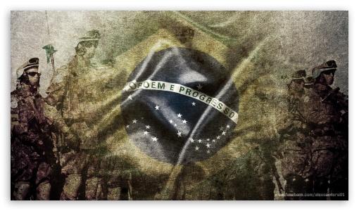Brazilian Soldiers HD wallpaper for HD 16:9 High Definition WQHD QWXGA 1080p 900p 720p QHD nHD ; Tablet 1:1 ; iPad 1/2/Mini ; Mobile 4:3 3:2 16:9 - UXGA XGA SVGA DVGA HVGA HQVGA devices ( Apple PowerBook G4 iPhone 4 3G 3GS iPod Touch ) WQHD QWXGA 1080p 900p 720p QHD nHD ;