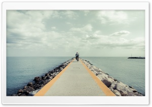 Breakwater HD Wide Wallpaper for Widescreen
