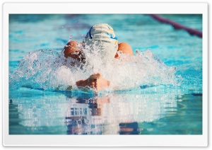 Breaststroke HD Wide Wallpaper for Widescreen