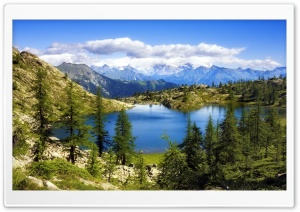 Breathtaking Mountain Lanscape HD Wide Wallpaper for Widescreen