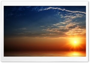 Breathtaking Sunset HD Wide Wallpaper for Widescreen