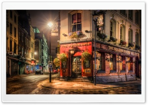 Brewer Pub London HD Wide Wallpaper for Widescreen