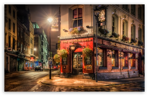 Brewer Pub London 4k Hd Desktop Wallpaper For 4k Ultra Hd Tv