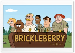 Brickleberry HD Wide Wallpaper for Widescreen