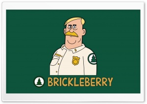 Brickleberry Woody HD Wide Wallpaper for Widescreen