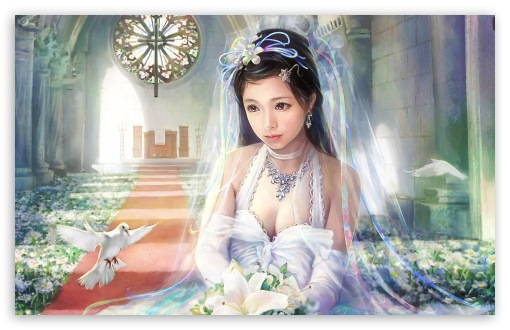 Bride Painting HD wallpaper for Wide 16:10 5:3 Widescreen WHXGA WQXGA WUXGA WXGA WGA ; HD 16:9 High Definition WQHD QWXGA 1080p 900p 720p QHD nHD ; Standard 4:3 5:4 3:2 Fullscreen UXGA XGA SVGA QSXGA SXGA DVGA HVGA HQVGA devices ( Apple PowerBook G4 iPhone 4 3G 3GS iPod Touch ) ; Tablet 1:1 ; iPad 1/2/Mini ; Mobile 4:3 5:3 3:2 16:9 5:4 - UXGA XGA SVGA WGA DVGA HVGA HQVGA devices ( Apple PowerBook G4 iPhone 4 3G 3GS iPod Touch ) WQHD QWXGA 1080p 900p 720p QHD nHD QSXGA SXGA ;
