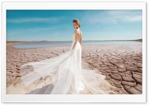 Bride Photoshoot Ultra HD Wallpaper for 4K UHD Widescreen desktop, tablet & smartphone