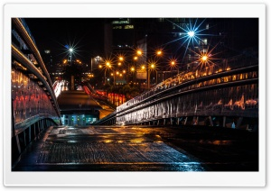 Bridge at Night HD Wide Wallpaper for Widescreen