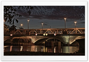 Bridge Brucke Berlin HD Wide Wallpaper for 4K UHD Widescreen desktop & smartphone