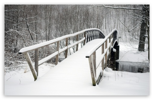 Bridge Covered In Snow HD wallpaper for Wide 16:10 5:3 Widescreen WHXGA WQXGA WUXGA WXGA WGA ; HD 16:9 High Definition WQHD QWXGA 1080p 900p 720p QHD nHD ; Standard 4:3 5:4 3:2 Fullscreen UXGA XGA SVGA QSXGA SXGA DVGA HVGA HQVGA devices ( Apple PowerBook G4 iPhone 4 3G 3GS iPod Touch ) ; Tablet 1:1 ; iPad 1/2/Mini ; Mobile 4:3 5:3 3:2 16:9 5:4 - UXGA XGA SVGA WGA DVGA HVGA HQVGA devices ( Apple PowerBook G4 iPhone 4 3G 3GS iPod Touch ) WQHD QWXGA 1080p 900p 720p QHD nHD QSXGA SXGA ; Dual 5:4 QSXGA SXGA ;