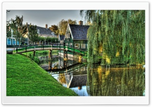 Bridge In Holland HD Wide Wallpaper for 4K UHD Widescreen desktop & smartphone