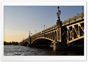 Bridge In Saint Petersburg HD Wide Wallpaper for Widescreen