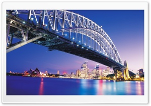 Bridge In Sydney HD Wide Wallpaper for 4K UHD Widescreen desktop & smartphone