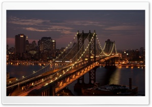 Bridge Lights HD Wide Wallpaper for Widescreen