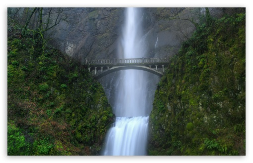 Bridge Over Waterfall HD wallpaper for Wide 16:10 5:3 Widescreen WHXGA WQXGA WUXGA WXGA WGA ; HD 16:9 High Definition WQHD QWXGA 1080p 900p 720p QHD nHD ; Standard 4:3 5:4 3:2 Fullscreen UXGA XGA SVGA QSXGA SXGA DVGA HVGA HQVGA devices ( Apple PowerBook G4 iPhone 4 3G 3GS iPod Touch ) ; Tablet 1:1 ; iPad 1/2/Mini ; Mobile 4:3 5:3 3:2 16:9 5:4 - UXGA XGA SVGA WGA DVGA HVGA HQVGA devices ( Apple PowerBook G4 iPhone 4 3G 3GS iPod Touch ) WQHD QWXGA 1080p 900p 720p QHD nHD QSXGA SXGA ;