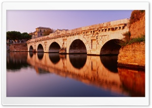 Bridge Reflection HD Wide Wallpaper for Widescreen