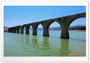 Bridge Ruin HD Wide Wallpaper for Widescreen