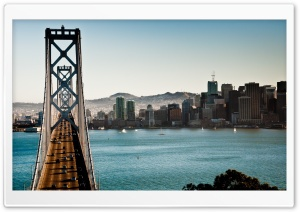 Bridge Traffic HD Wide Wallpaper for Widescreen