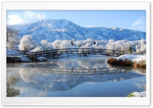 Bridge Winter HD Wide Wallpaper for 4K UHD Widescreen desktop & smartphone