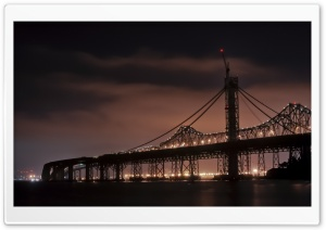 Bridges At Night HD Wide Wallpaper for Widescreen