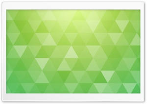 Bright Green Abstract Geometric Triangle Background Ultra HD Wallpaper for 4K UHD Widescreen desktop, tablet & smartphone