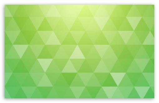 Bright Green Abstract Geometric Triangle Background Ultra Hd Desktop Background Wallpaper For Triple Tablet Smartphone