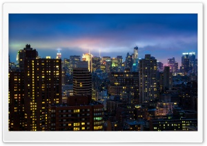 Bright Lights, Big City HD Wide Wallpaper for Widescreen