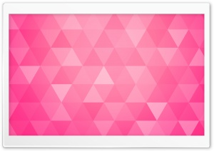 Bright Pink Abstract Geometric Triangle Background Ultra HD Wallpaper for 4K UHD Widescreen desktop, tablet & smartphone