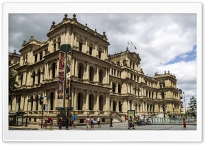 Brisbane Casino Queen Street HD Wide Wallpaper for Widescreen