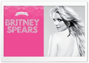 Britney Spears Candie's HD Wide Wallpaper for Widescreen
