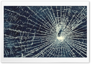 Broken Glass HD Wide Wallpaper for Widescreen