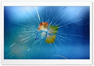 Broken Windows HD Wide Wallpaper for Widescreen