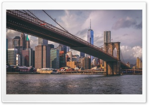 Brooklyn Bridge HD Wide Wallpaper for 4K UHD Widescreen desktop & smartphone