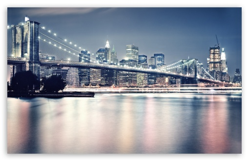 Brooklyn Bridge At Night HD wallpaper for Standard 4:3 5:4 Fullscreen UXGA XGA SVGA QSXGA SXGA ; Wide 16:10 5:3 Widescreen WHXGA WQXGA WUXGA WXGA WGA ; HD 16:9 High Definition WQHD QWXGA 1080p 900p 720p QHD nHD ; Other 3:2 DVGA HVGA HQVGA devices ( Apple PowerBook G4 iPhone 4 3G 3GS iPod Touch ) ; Mobile VGA WVGA iPhone iPad PSP Phone - VGA QVGA Smartphone ( PocketPC GPS iPod Zune BlackBerry HTC Samsung LG Nokia Eten Asus ) WVGA WQVGA Smartphone ( HTC Samsung Sony Ericsson LG Vertu MIO ) HVGA Smartphone ( Apple iPhone iPod BlackBerry HTC Samsung Nokia ) Sony PSP Zune HD Zen ; Tablet 2 Android 3 DVGA HVGA HQVGA devices ( Apple PowerBook G4 iPhone 4 3G 3GS iPod Touch ) ; Dual 4:3 5:4 16:10 5:3 16:9 UXGA XGA SVGA QSXGA SXGA WHXGA WQXGA WUXGA WXGA WGA WQHD QWXGA 1080p 900p 720p QHD nHD ;