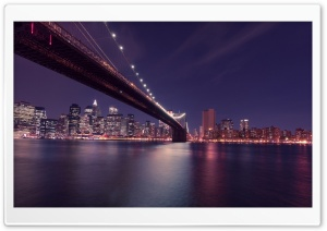 Brooklyn Bridge Manhattan New York HD Wide Wallpaper for 4K UHD Widescreen desktop & smartphone