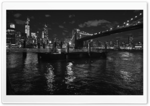 Brooklyn Bridge, New York HD Wide Wallpaper for Widescreen