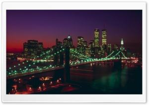 Brooklyn Bridge New York HD Wide Wallpaper for Widescreen