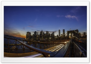 Brooklyn Bridge, New York City HD Wide Wallpaper for Widescreen