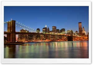 Brooklyn Bridge USA HD Wide Wallpaper for Widescreen