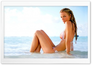 Brooklyn Decker Model HD Wide Wallpaper for Widescreen