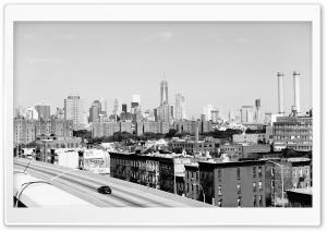 Brooklyn From My Airbnb HD Wide Wallpaper for 4K UHD Widescreen desktop & smartphone