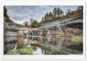 Brotons Mill Moi, Catalonia HD Wide Wallpaper for Widescreen