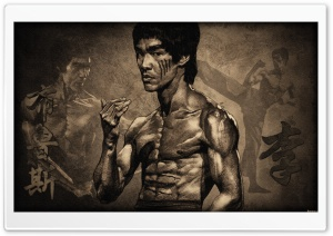 Bruce Lee HD Wide Wallpaper for 4K UHD Widescreen desktop & smartphone