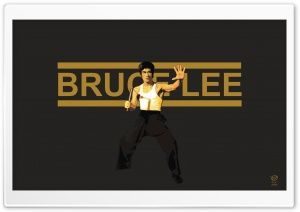 Bruce Lee HD Wide Wallpaper for Widescreen