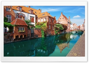 Bruges, Belgium HD Wide Wallpaper for Widescreen