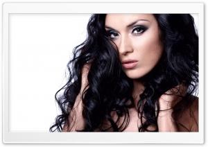 Brunette With Long Hair Ultra HD Wallpaper for 4K UHD Widescreen desktop, tablet & smartphone