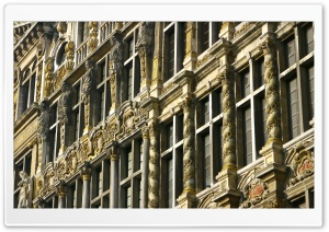 Brussels Old Architecture HD Wide Wallpaper for Widescreen