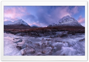 Buachaille Etive Mor, Glencoe, Scotland HD Wide Wallpaper for Widescreen
